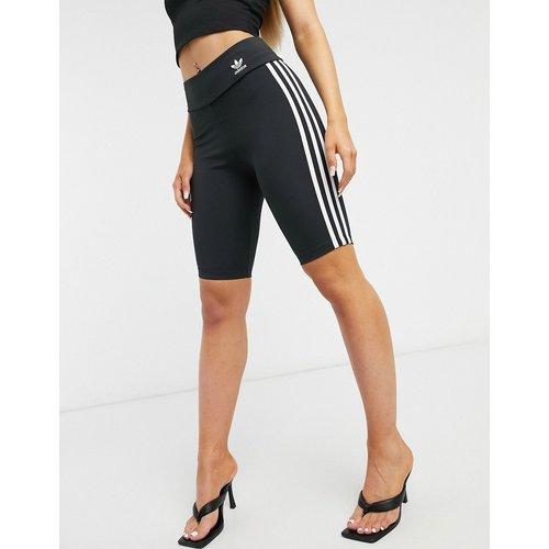 Adicolor - Short legging taille haute à troisbandes - adidas Originals - Modalova