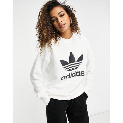 Adicolor - Sweat-shirt à grand logo - adidas Originals - Modalova