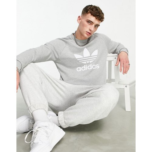 Adicolor - Sweat-shirt avec logo trèfle - adidas Originals - Modalova