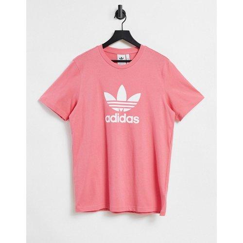Adicolor - T-shirt avec grand logo - thé - adidas Originals - Modalova