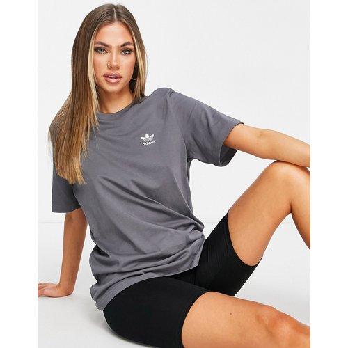 Adicolor - T-shirt coupe boyfriend à logo - adidas Originals - Modalova