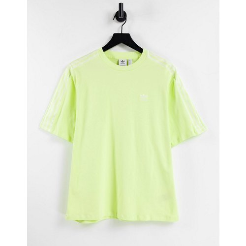 Adicolor - T-shirt imitation satin à trois bandes - adidas Originals - Modalova