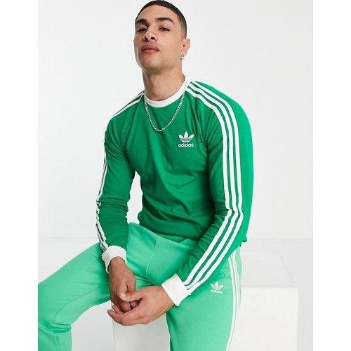 Adicolor - T-shirt manches longues à troisbandes - adidas Originals - Modalova