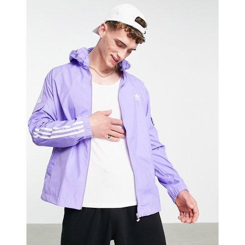 Adicolor - Veste coupe-vent à trois bandes - clair - adidas Originals - Modalova