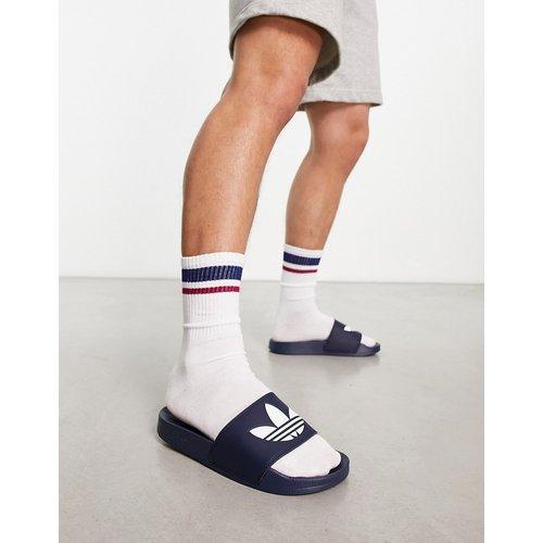 Adilette Lite - Claquettes - Bleu - adidas Originals - Modalova
