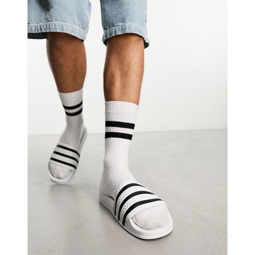 Adilette - Mules - Blanc et - adidas Originals - Modalova