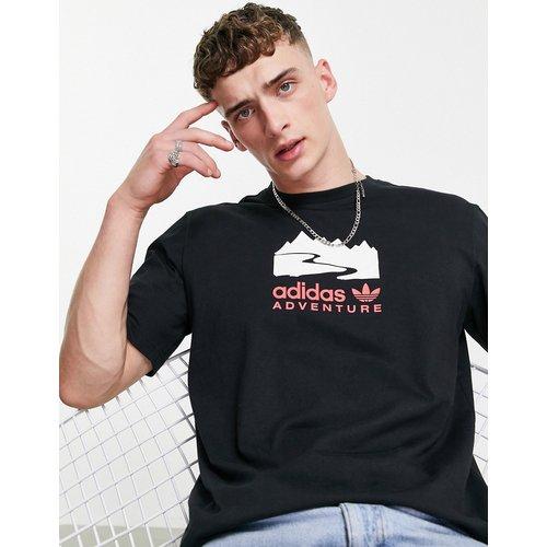 Adventure - T-shirt avec imprimé centré - adidas Originals - Modalova