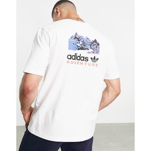 Adventure - T-shirt imprimé au dos - adidas Originals - Modalova