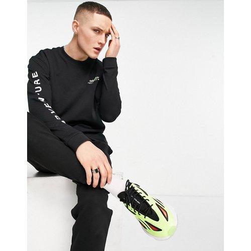 Adventure - T-shirt manches longues à imprimé caméléon - adidas Originals - Modalova