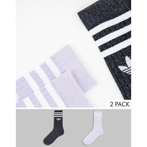 Chaussettes pailletées - et violet - adidas Originals - Modalova
