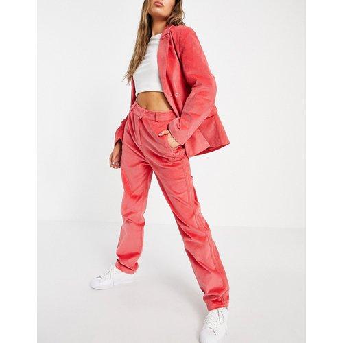Comfy Cords - Pantalon de costume large taille haute en velours côtelé - adidas Originals - Modalova