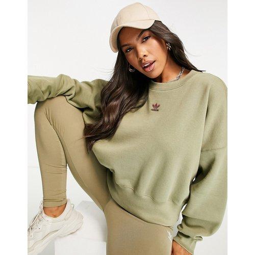 Essentials - Sweat-shirt- Kaki - adidas Originals - Modalova