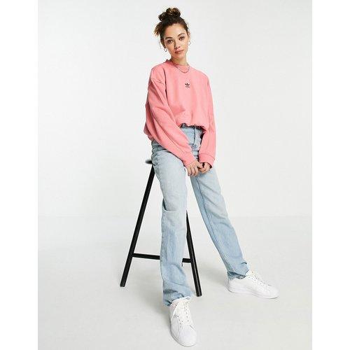 Essentials - Sweat-shirt oversize à logo centré - adidas Originals - Modalova