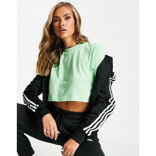 Essentials - T-shirt crop top - menthe - adidas Originals - Modalova