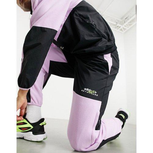 Jogger en polaire (ensemble) - /lilas - adidas Originals - Modalova