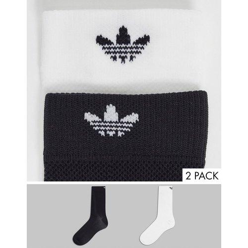 Lot de 2 paires de chaussettes structurées - adidas Originals - Modalova