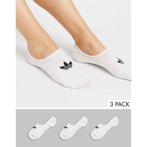 Lot de 3 paires de chaussettes invisibles - adidas Originals - Modalova