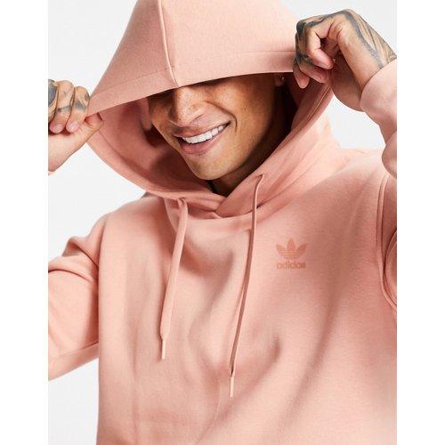 Marshmallow - Hoodie à logo trèfle - Blush - adidas Originals - Modalova