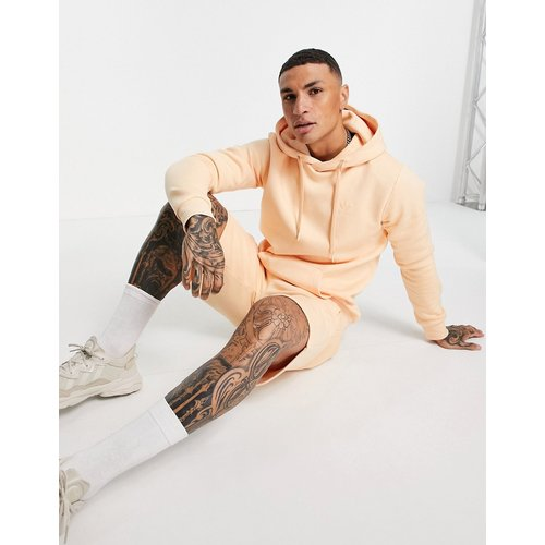 Marshmallow - Hoodie à logo trèfle - pâle - adidas Originals - Modalova