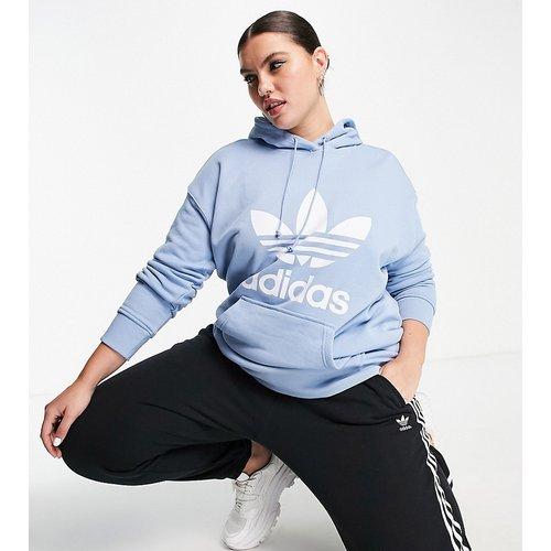 Plus - adicolor - Hoodie à grand logo - adidas Originals - Modalova