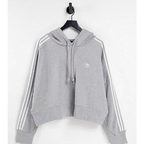 Plus - adicolor - Sweat-shirt à trois bandes - Gris - adidas Originals - Modalova