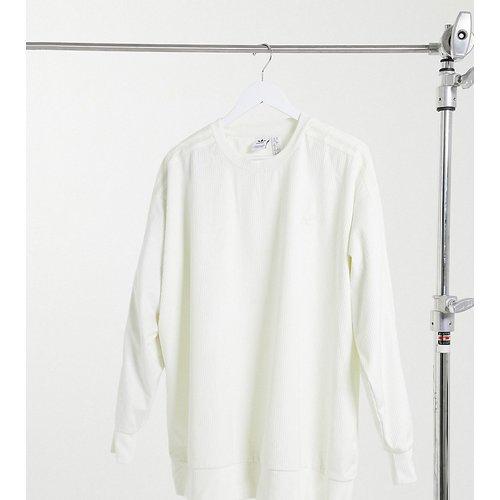 Plus - Comfy Cords - Sweat-shirt en velours côtelé - cassé - adidas Originals - Modalova