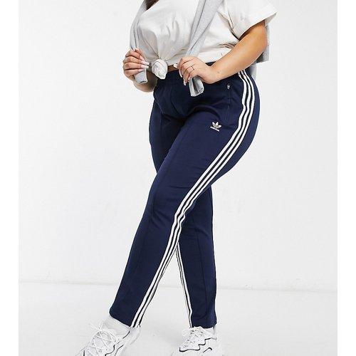 Plus - Pantalon de survêtement à logo 3bandes - Bleu - adidas Originals - Modalova