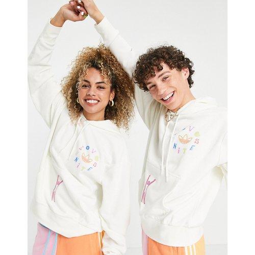 Pride Love Unites - Hoodie imprimé - cassé - adidas Originals - Modalova