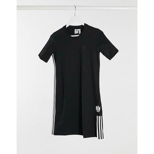 Robe t-shirt à logo trèfle 3D - adidas Originals - Modalova