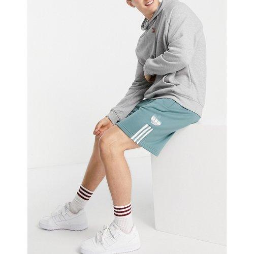 Short avec logo trèfle en relief 3D - adidas Originals - Modalova