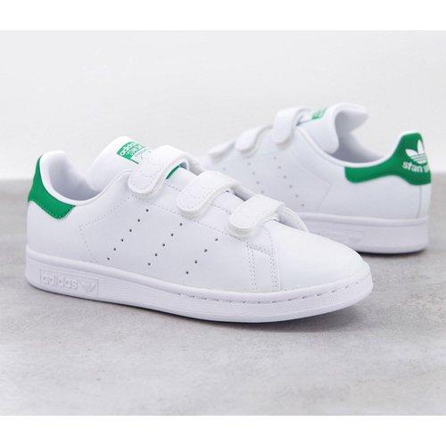 - Stan Smith - Baskets durables à attache scratch - et vert - adidas Originals - Modalova