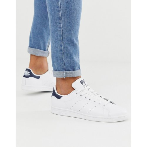 Stan Smith - Baskets en cuir - et bleu marine - adidas Originals - Modalova