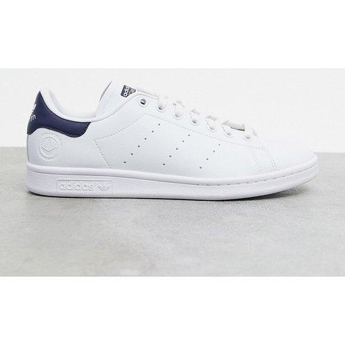 Stan Smith - Baskets en cuir vegan - et bleu marine - adidas Originals - Modalova