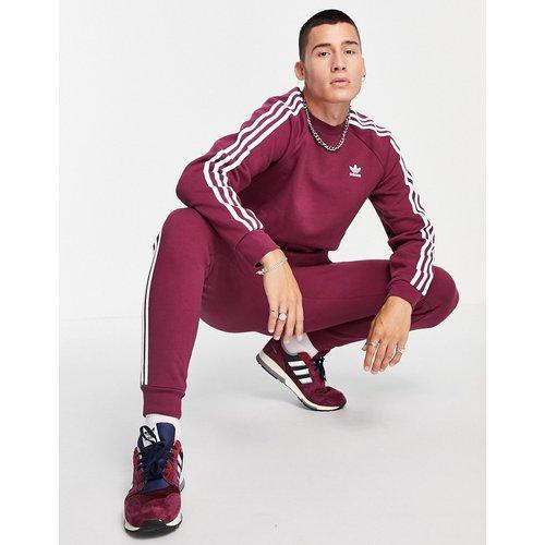 Sweat-shirt à trois bandes - Prune - adidas Originals - Modalova