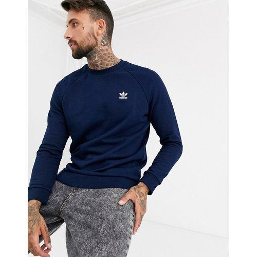Sweat-shirt avec petit logo brodé - Bleu - adidas Originals - Modalova