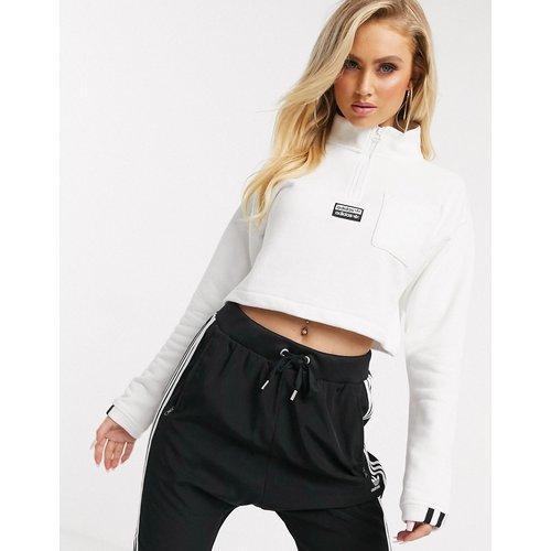 Sweat-shirt court à col montant - adidas Originals - Modalova