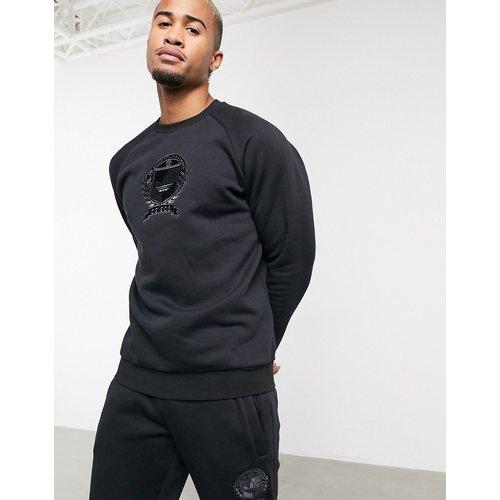 Sweat-shirt d'ensemble en polaire avec blason style université - adidas Originals - Modalova