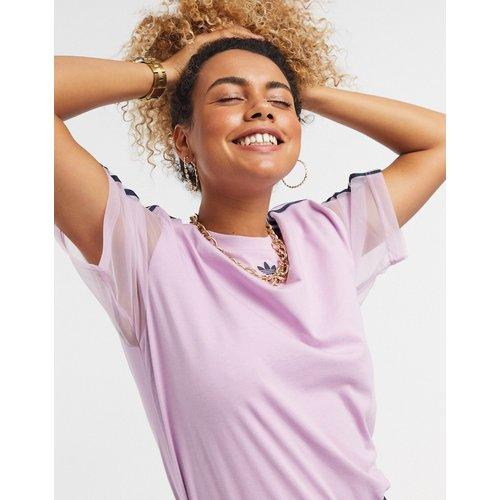 T-shirt à logo en tulle - adidas Originals - Modalova
