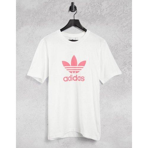 T-shirt boyfriend à coupe ample et logo - adidas Originals - Modalova