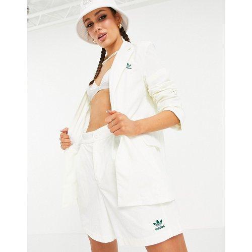 Tennis Luxe - Blazer droit à logo - cassé - adidas Originals - Modalova