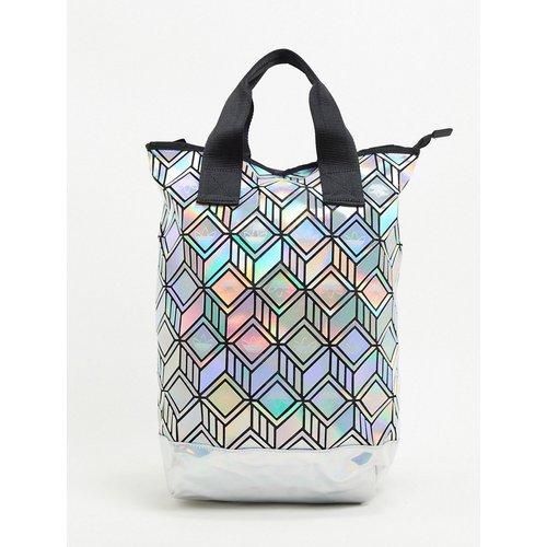 Tote bag à motif géométrique 3D - adidas Originals - Modalova