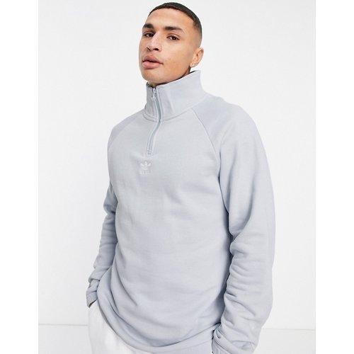 Trefoil - Sweat-shirt à demi-zip - pâle - adidas Originals - Modalova