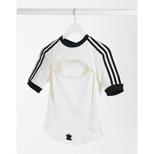 X Paolina Russo - T-shirt ajusté à trois bandes - adidas Originals - Modalova