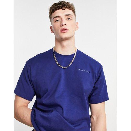 X Pharrell Williams - T-shirt de qualité supérieure - Bleu foncé - adidas Originals - Modalova