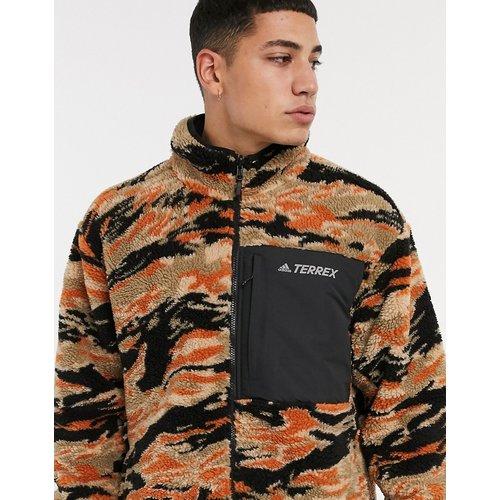 Adidas Outdoors - Polaire réversible -Camouflage - adidas performance - Modalova