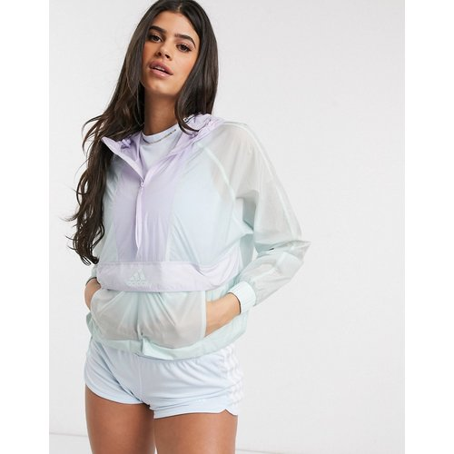 Adidas - Outdoors - Veste coupe-vent courte - Menthe - adidas performance - Modalova