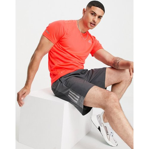 Adidas Running - T-shirt - Rouge - adidas performance - Modalova