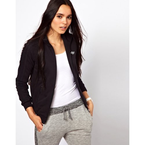 Adidas - Sweat zippé-Gris - Adidas - Modalova