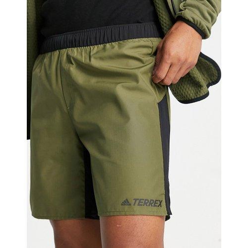 Adidas - Terrex - Short de randonnée - Kaki - adidas performance - Modalova