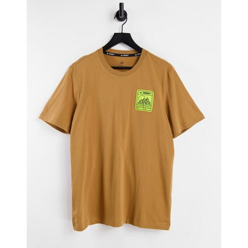 Terrex - T-shirt à logo et motif montagne - Adidas - Modalova